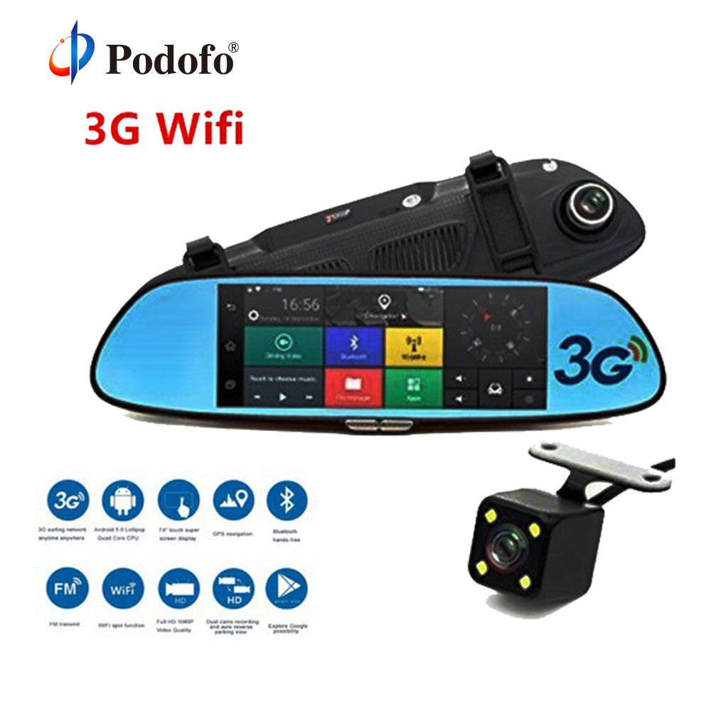 Podofo 3G Car DVR 7