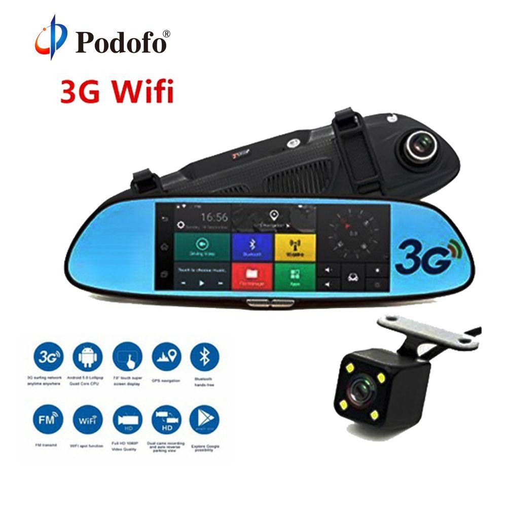 Podofo 3G Car DVR 7