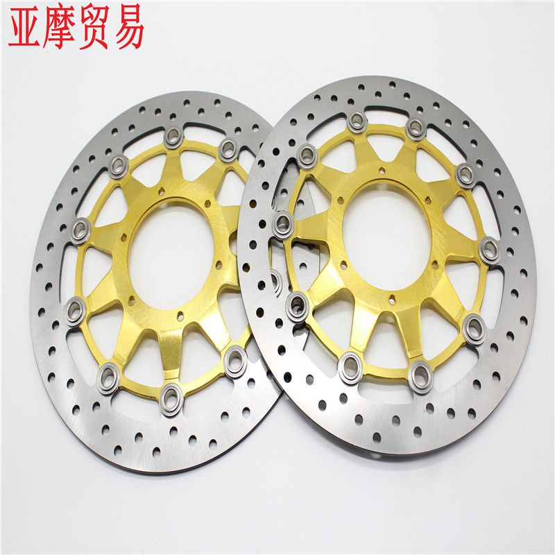 2 Pcs Motorcycle Front Floating Brake Disc Rotor For Honda CBR1000RR CBR1000 2006 2007 2008 2009 2010 2011 12 CBR 1000 RR 1000RR