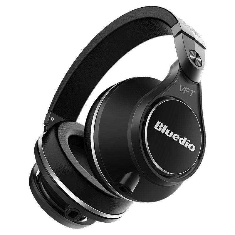 Bluedio UFO Plus Earphone High-End Bluetooth Headphones PPS12 Drivers Headband With Microphone Music Wireless Headset