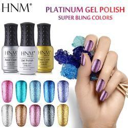 HNM 8 мл Блестящий УФ-гель для ногтей длинный последний светодиодный Гель-лак Esmalte Permanente лак для ногтей Гель-лак для ногтей для нанесения рисун...