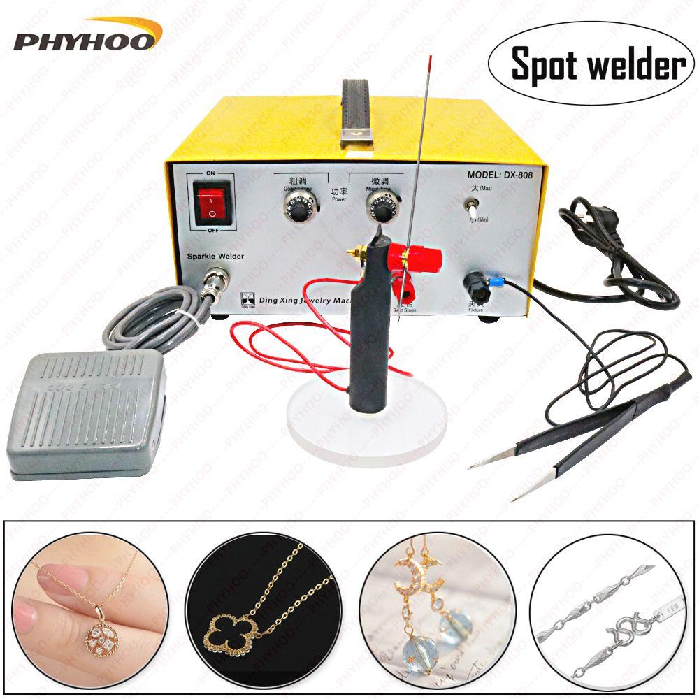 80A spot welding hand - held pulse spot welder welding machine welding machine gold and silver jewelry processing