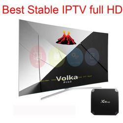 Android tv box x96mini Volka pro Iptv Abonnement Français Italien Europe Monde Arabe IPTV abonnement Neo IPTV Pro M3U Mag