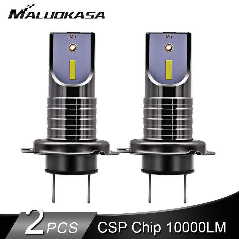 2PCS LED H7 LED Headlight Bulbs H7 Canbus CSP Y1919 Chip 10000LM 25W Mini H11 H8 HB4 Car Lights Cutting Line 12V 24V Car Styling