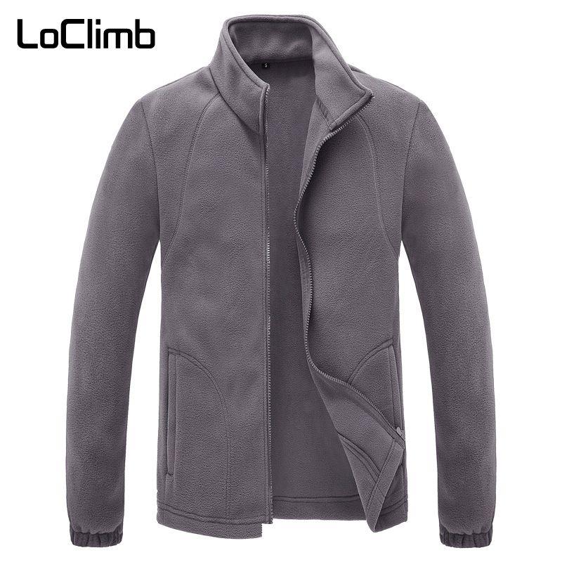 LoClimb veste polaire hiver homme extérieur Camping tourisme manteau escalade Trekking Ski randonnée vestes AM132