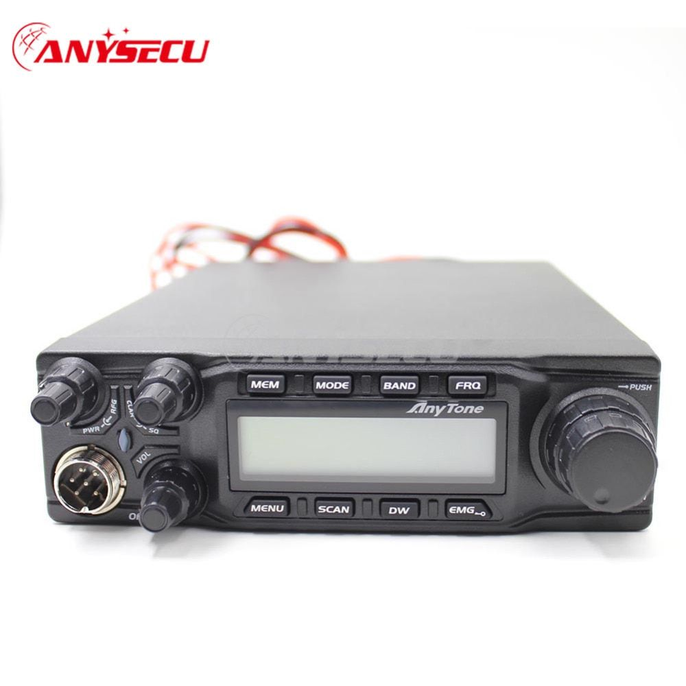 large LCD displays AT-6666 AM FM USB LSB PW CW 10 meter 28.000-29.700MHz 40channels cb radio + Program cable