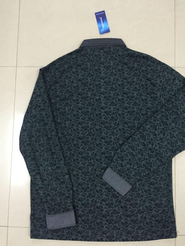 2018 New hot <font><b>selling</b></font> spring Men multicolor Print Cotton Long Sleeve T-Shirt N751-N909