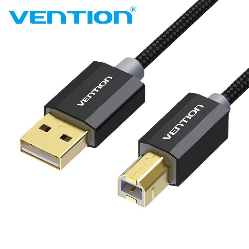 Tions USB 2.0 Drucker Kabel Typ A Stecker auf B Stecker Scanner Sync Daten Kabel Ladekabel Vergoldete Kabel Für HP Drucker USB2.0 Kabel