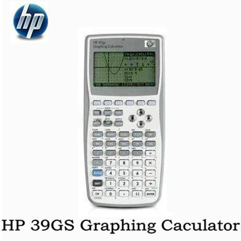1 Piece New Original Graphics Calculator for HP 39gs Graphics Calculator teach SAT/AP <font><b>test</b></font> for hp39gs