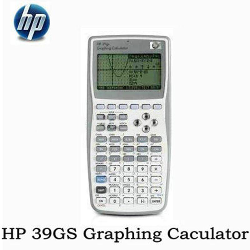 1 Piece New Original Graphics Calculator for HP 39gs Graphics Calculator teach SAT/AP test for hp39gs