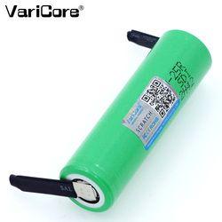 Оригинальный varicore 18650 2500 mAh аккумулятор INR1865025R 3,6 V разрядка 20A выделенная батарея мощность + DIY никель