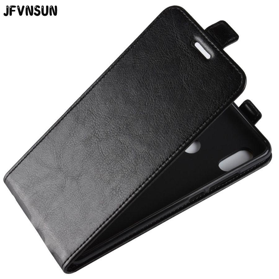 JFVNSUN For Redmi Note 5 Case Snapdragon 636 Retro Leather + Silicone Vertical Flip Case For Xiaomi Redmi NOTE 5 pro Cover 5.99