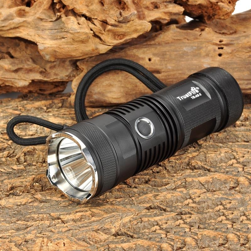 TrustFire TR-A9-2 910lm 5-Mode Memory White Flashlight (1 x 26650 / 32650 battery ) XM-L2 T6 LED Lamp High Brightness Torch
