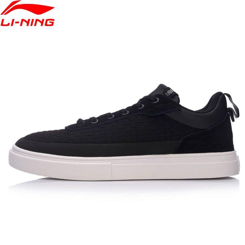 Li Ning Men Shoes CITY SURF Sports Life Series Walking Shoes Anti-Slippery LiNing Sneakers Wearable Sports Shoes GLKM087