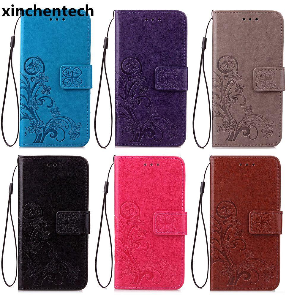 Xinchentech For Xiaomi Redmi 4/Redmi 4 Pro Case Luxury Leather Phone Bag Accessory Lanyard Flip Cover For Redmi4 Prime 5.0inch