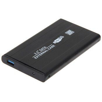 2.5 Pouce SATA Boîte De Stockage Externe Hdd SATA HDD Cas à USB 3.0 Disque Dur Disque avec USB Câble de Transfert Plus Rapide taux