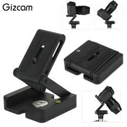 Gizcam Folding Z Type Stand Holder Desktop Pro Tripod Flex Tilt Head Pan Ball Universal For Camera Camcorder