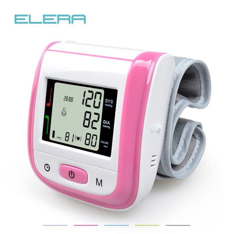 Health Care Automatic Wrist Blood Pressure Monitor Digital LCD Wrist Cuff Blood Pressure Meter Esfingomanometro <font><b>Tonometer</b></font>