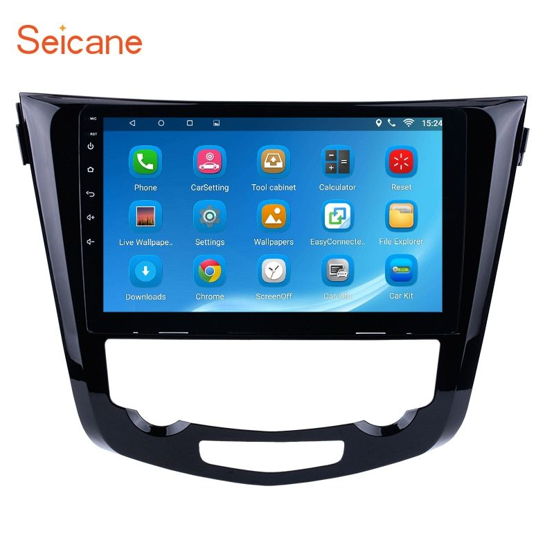 Seicane Android 6.0 10.1 inch Car Radio Bluetooth OEM GPS Navi Unit Player for 2014 Nissan QashQai X-Trail 3G WiFi