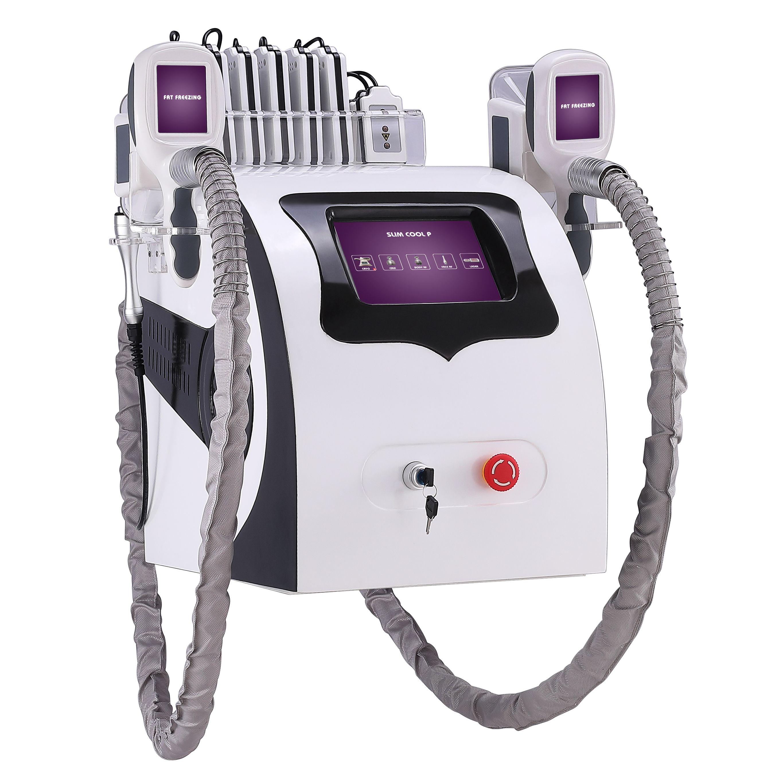 Salon Schönheit Tragbare 5 in 1 körper abnehmen cryolipolysis maschine kavitation RF körper und gesicht heben Yting Ausrüstung