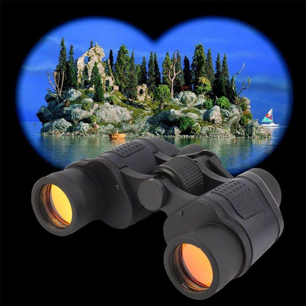 Top Fernglas Hoher Klarheit 60X60 3000 Mt Beobachtung Nachtsicht Optische Grüner Film Fernglas Mit Entfernungsmesser Absehen