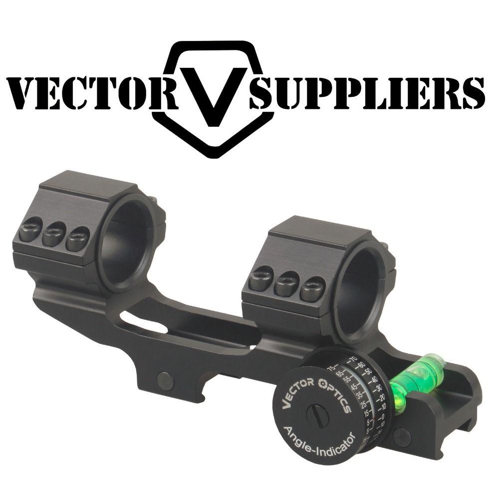 Vektoroptik 30mm 1 Skelettiert Ein Stück Winkel Anzeige Wasserwaage ACD Montieren Ring Präzision Gewehr Winkel Cos