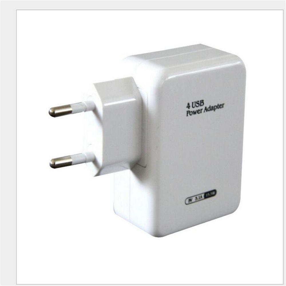 5 V 3.1A AC 4 Port Eu-stecker Wand Home Reise Universal Micro usb power adapter ladegerät hub für samsung für iphone vay84 p18 0,4