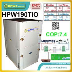 La source de l'eau conditionnée/géothermique pompe à chaleur assure le chauffage, de refroidissement et D'EAU CHAUDE SANITAIRE (d'eau chaude sanitaire), nous consulter sur les coûts d'expédition
