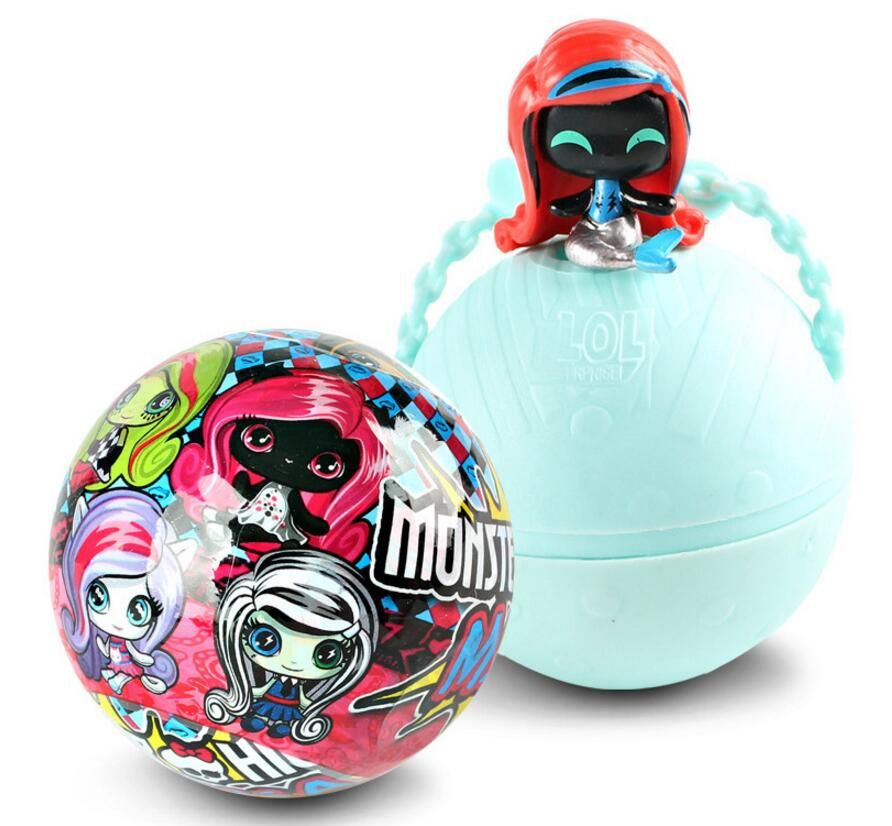Fairy high school monster toy surprise doll demolition ball girl toys creative novelty decompression toys