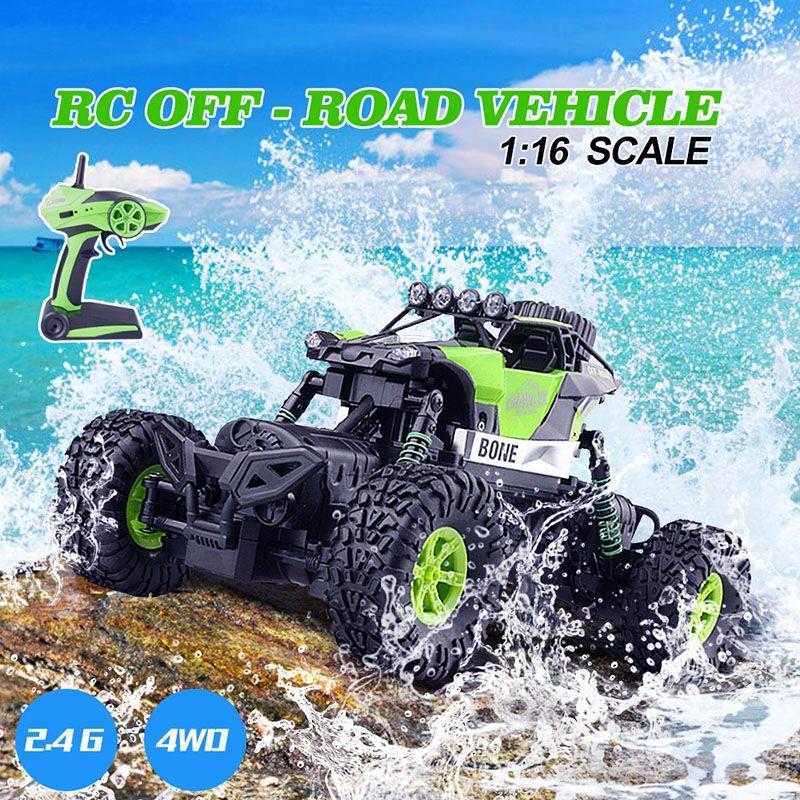1/16 RC voiture 4WD 2.4G modèle échelle roche Rc jouet voiture avec télécommande hors route Rc jouet voitures cadeaux