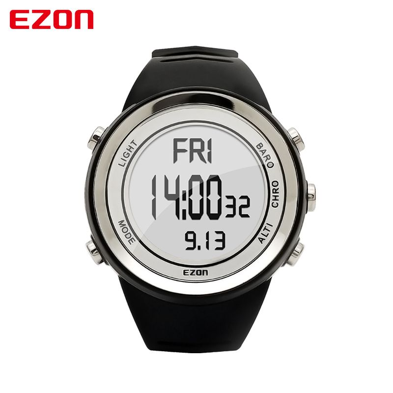2017 Fashion Sport Watch EZON H009A15 Hiking Mountain Climbing Watch Men's Digital Watches Altimeter Barometer Thermometer