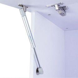 Мебельный шкаф опорный стержень 80N/100N Гидравлический пневматический газовый опорный стержень алюминиевый маленький татами дверной буфер т...
