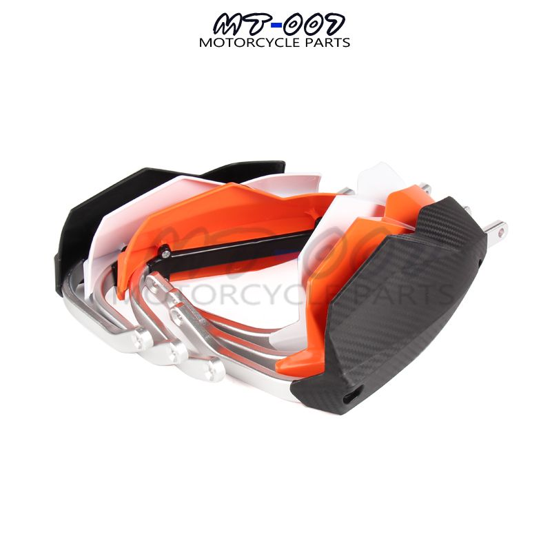 3 colors available black white orange 22mm motorbike parts moto protection motocross hand guard for SXF motorcycle handguard