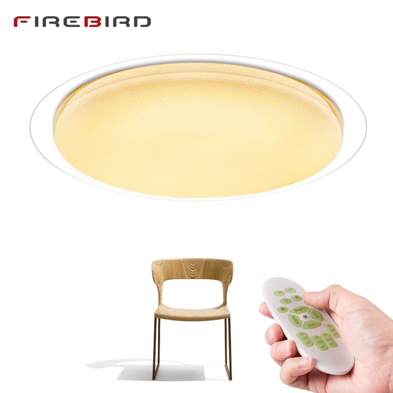 <font><b>Modern</b></font> LED ceiling Lights Remote Control Dimmable 25W 400mm 60W 550mm Lighting Fixture Living Room Bedroom Smart ceiling lamp