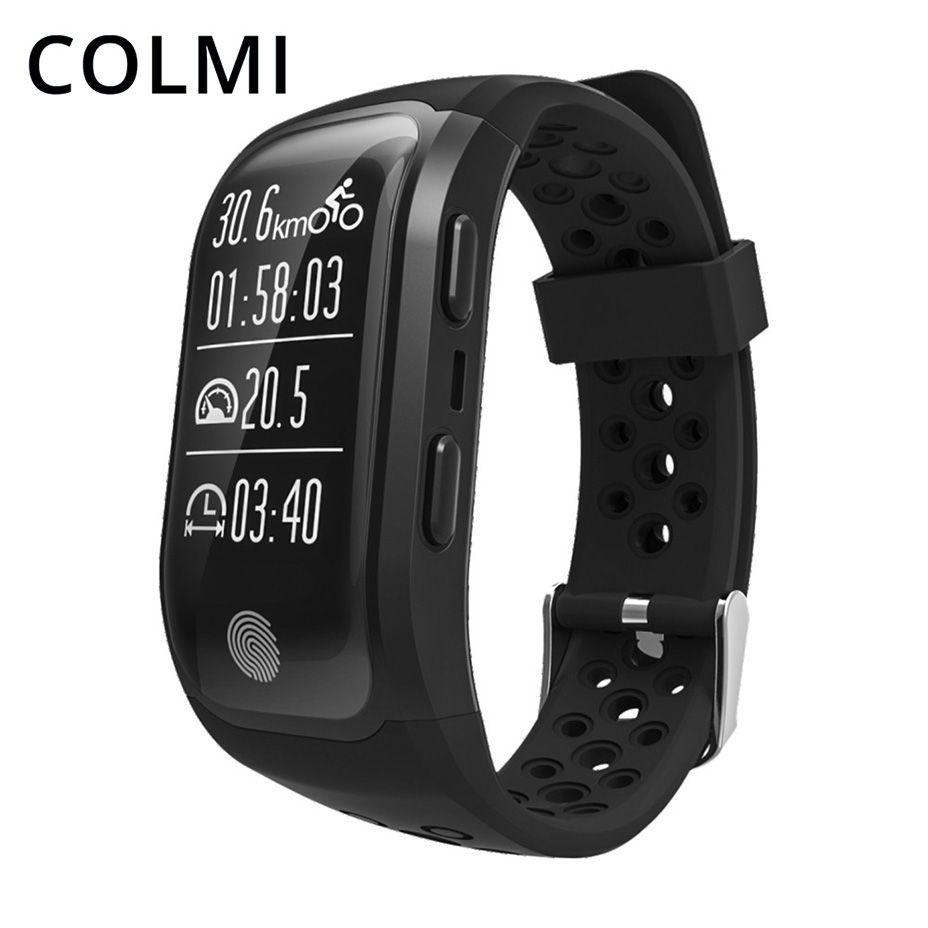 COLMI GPS Smart Band IP68 Waterproof Sports Wristband Multiple sports Heart Rate Monitor Call Reminder Brim S908 Smartband