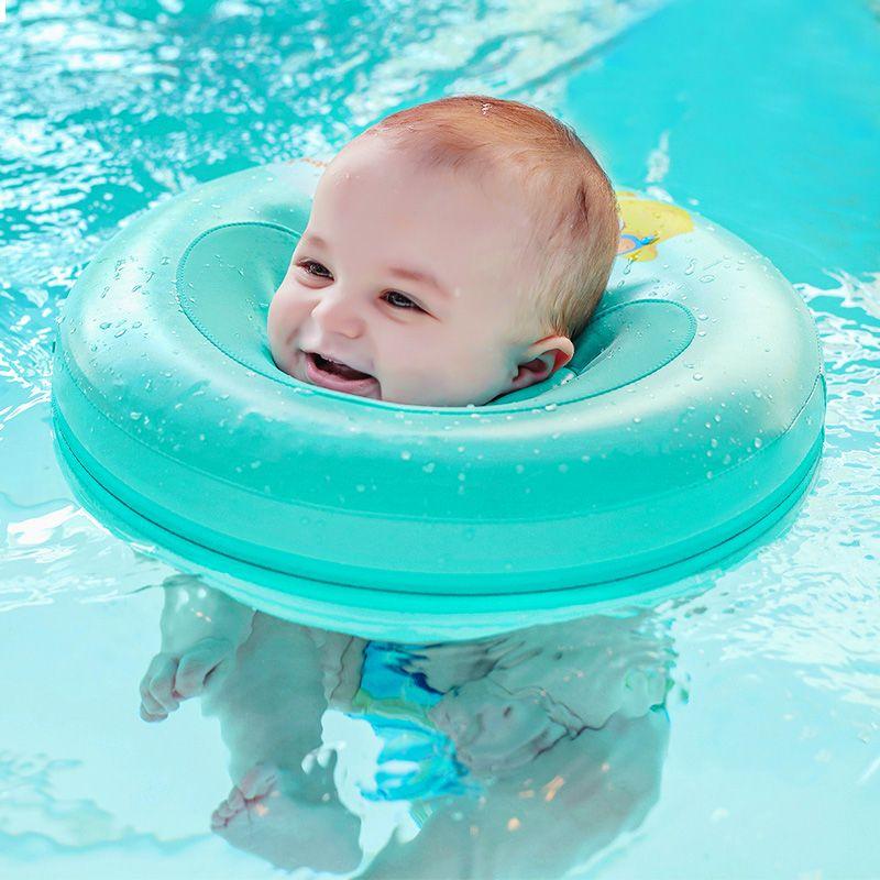 Solide Bébé De Natation anneau de cou Bébé Neck Float Flot Adore Par Piscina entraîneur de natation Infantile Cou Flotteur Bébé accessoires de natation