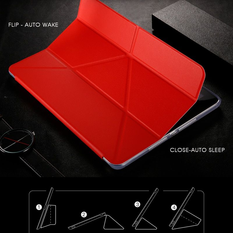 Baseus мягкие tpu case for ipad pro 10.5 магнитных флип кожаный крышка для 2017 ipad pro автосна флип стоять защитный чехол case
