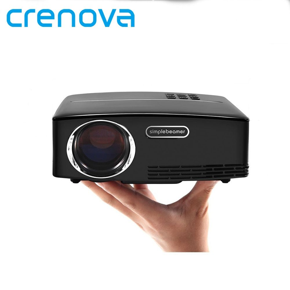 CRENOVA High Quality Mini Projector For Full HD 1920*1080P Home Theater Projectors With Android 6.1 OS WIFI Bluetooth Beamer