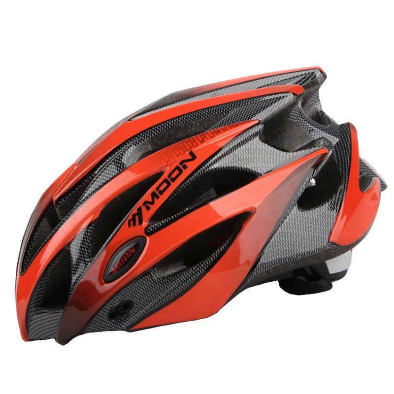 MOON Bicycle Helmet Integrally-molded Cycling Helmet Ultralight Outdoor Sports MTB Road Mountain CE Certification Bike Helmet
