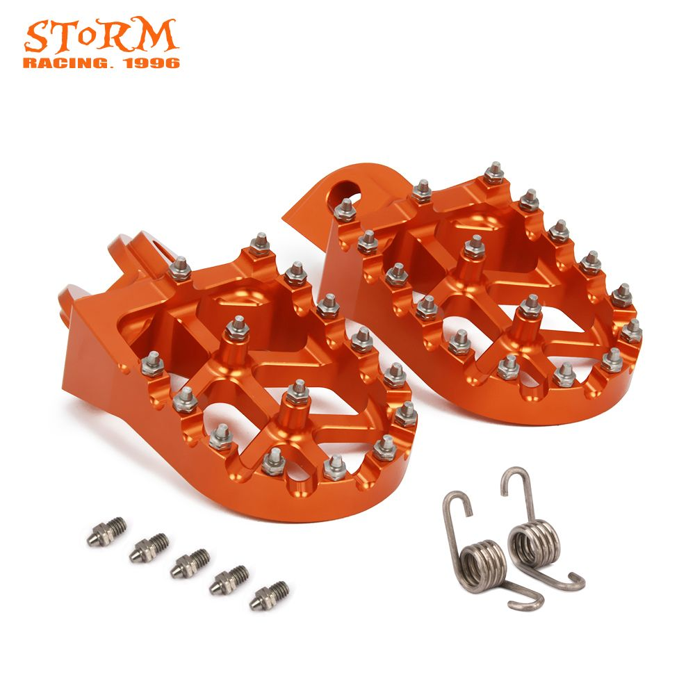 Foot Pegs FootRest Footpegs Rests Pedals For KTM SX SXF EXC EXCF XC XCF XCW XCFW SMC 65 85 125 150 200 250 300 -1290 ADVENTURE
