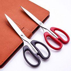 6034  Stationery scissors, stainless steel scissors, office scissors, paper cutting scissors free shipping