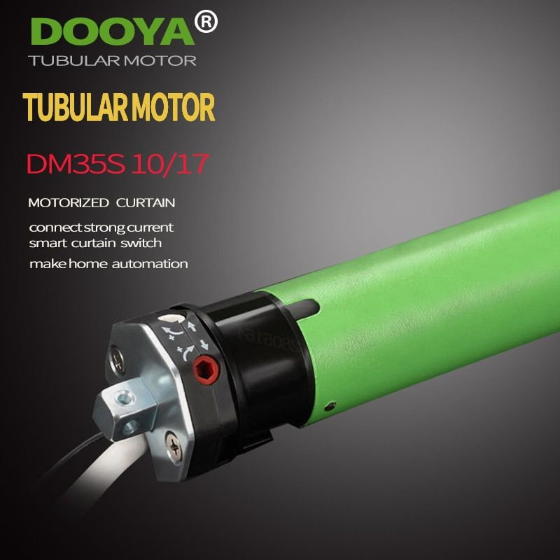 High Quality Original Dooya Tubular Motor 220V 50MHZ DM35S For Motorized Rolling Blinds compatible with main voltage switch