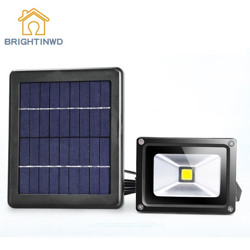 Solar Light Spotlight Super Bright LED Outdoor Floodlights Light Control 9v Garden Lighting Street Wall Lamp Waterproof IP65
