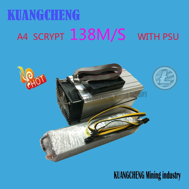 KUANGCHENG Mining industry sell LTC MINER Innosilicon A4 Dominator 138M Litecoin 14nm SCRYPT Miner better than A2 110mTerminator