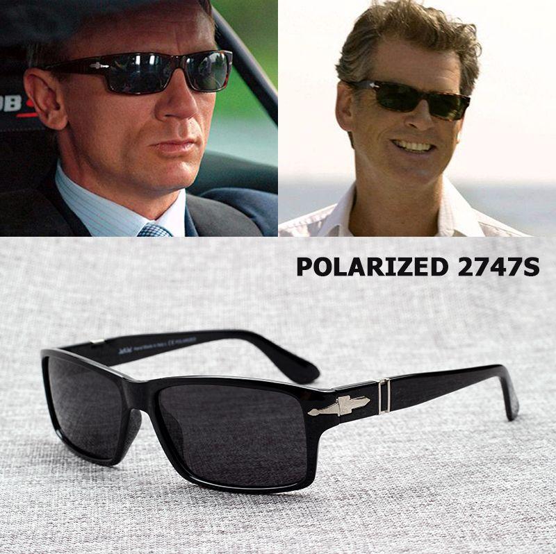 JackJad mode hommes lunettes De soleil polarisées conduite Mission Impossible4 Tom Cruise James Bond lunettes De soleil Oculos De Sol Masculino
