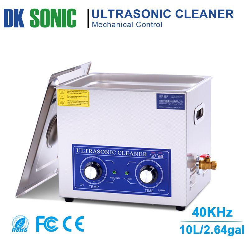 240 watt 10L PS-40 Edelstahl Ultraschall Pistole Reiniger mit Heizung Timer Ultraschall Washer für Kugeln Shell Hardware PCB Metall Teile