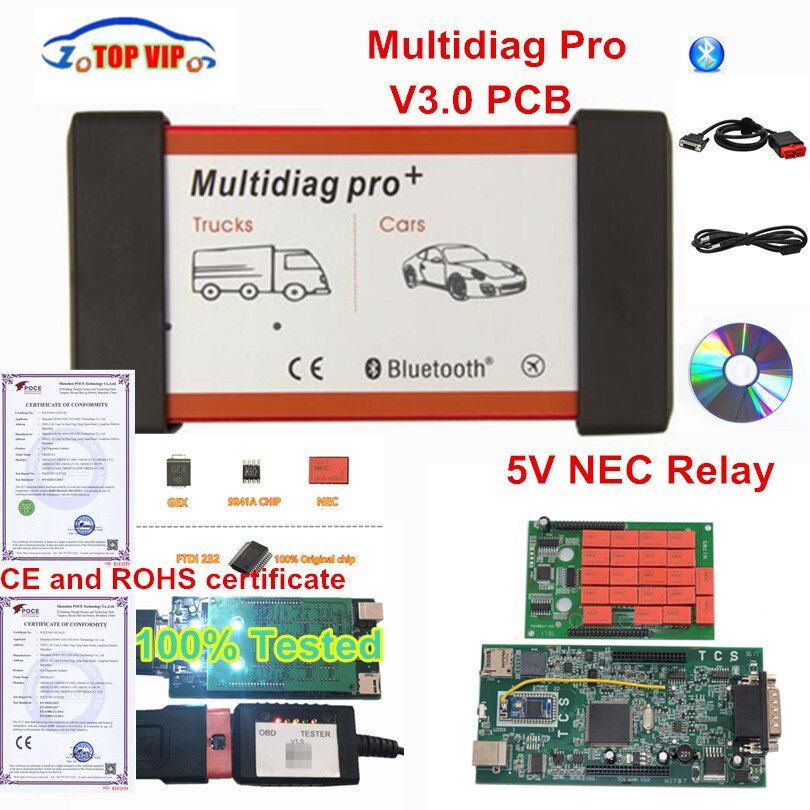Latest 2016.00 with keygen SW Multidiag Pro Bluetooth TCS CDP Pro Multi diag Pro Free Keygen Diagnostic Scanner Tool