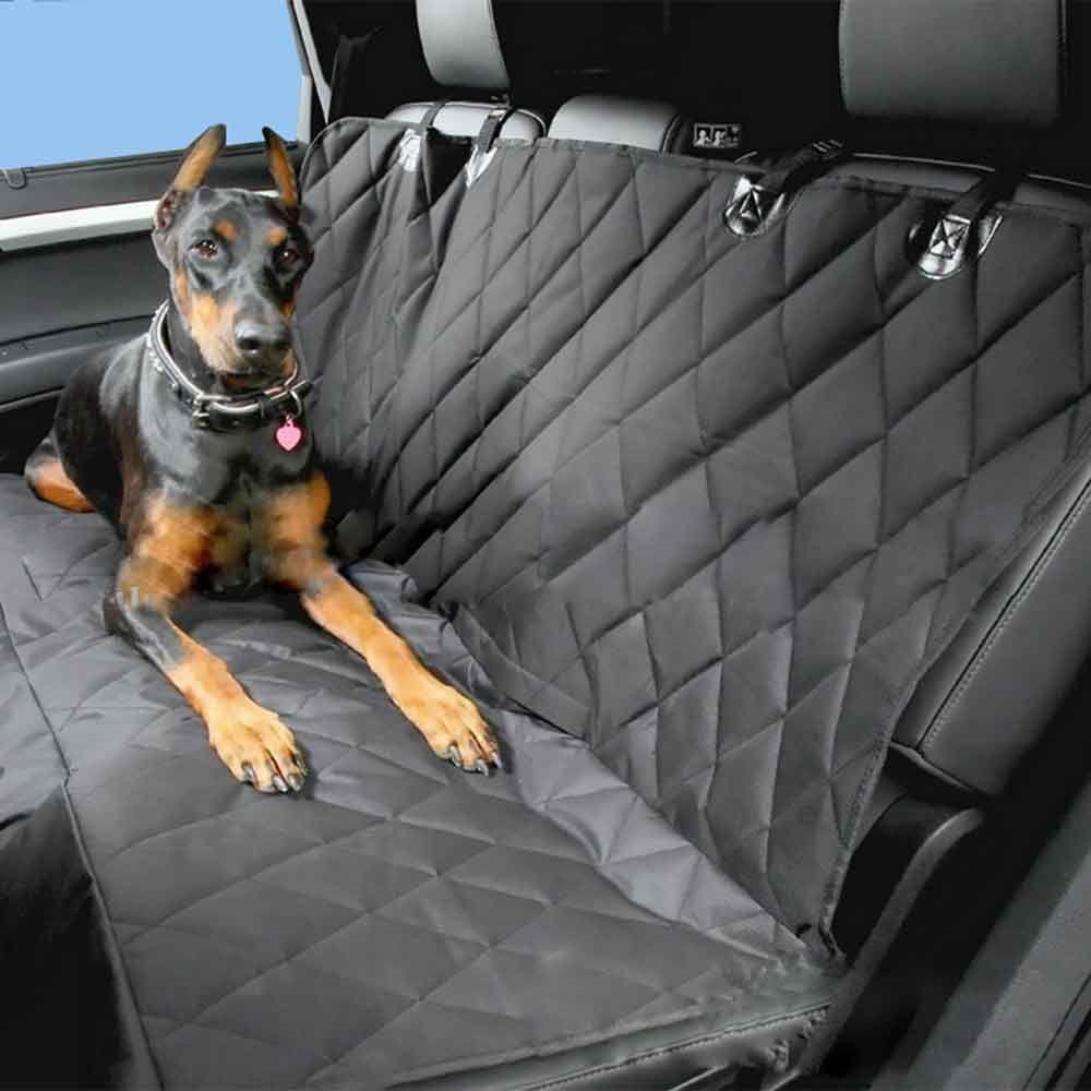 Универсальный ПЭТ Обивка сиденья автомобиля 58x54 дюйма нескользящим складывающееся заднее Подушки багажник автомобиля Коврики