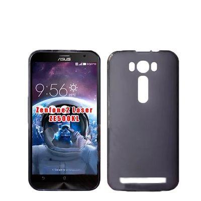 Para Asus Zenfone2 láser ZE500KL caso ultra-fino transparente TPU suave teléfono proteger Shell para Asus Zenfone2 láser ZE500KL