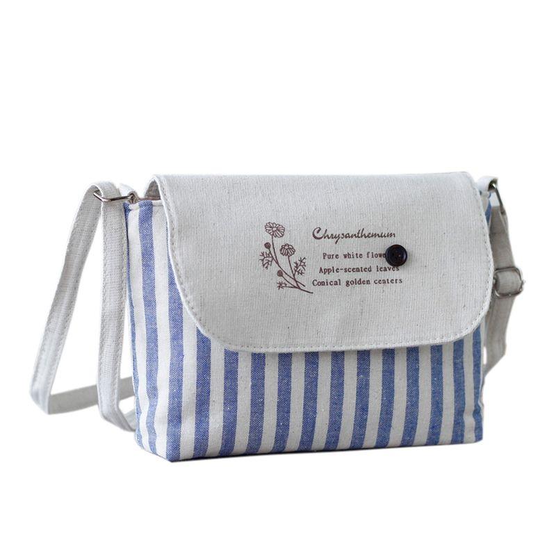 Canvas Women Messenger Bags Baobao Girls Shoulder Bags Lady's Bag Female Handbag Small Crossbody Bag For Women Sac A Main Bolsas